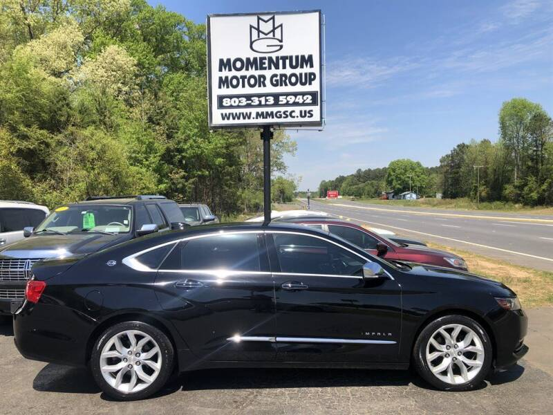 2016 Chevrolet Impala for sale at Momentum Motor Group in Lancaster SC