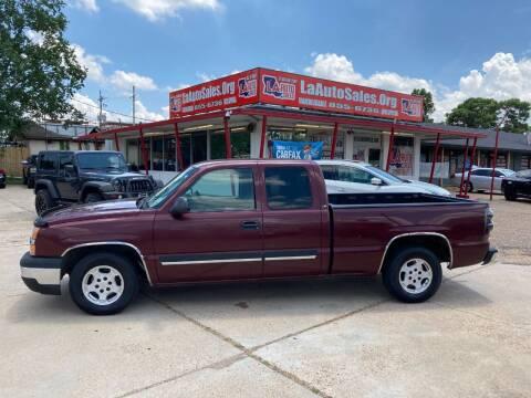 2003 Chevrolet Silverado 1500 for sale at LA Auto Sales in Monroe LA