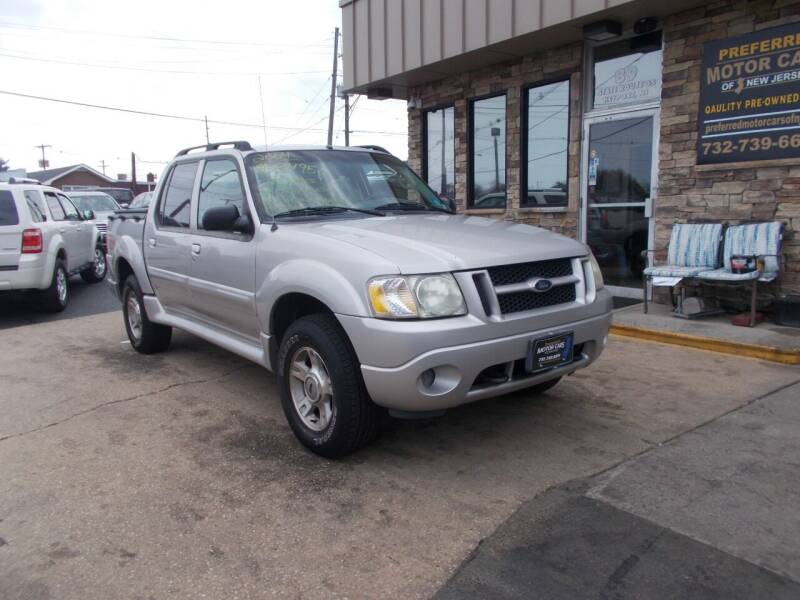 2004 Ford Explorer Sport Trac for sale at Preferred Motor Cars of New Jersey in Keyport NJ