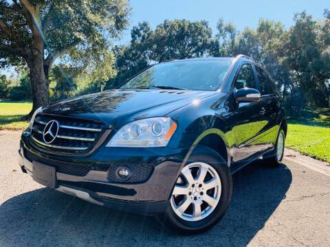 2007 Mercedes-Benz M-Class for sale at FLORIDA MIDO MOTORS INC in Tampa FL