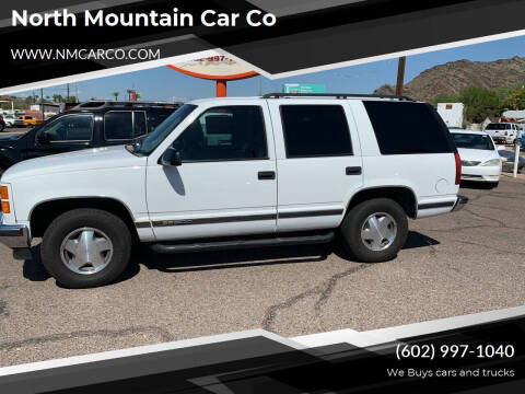 1999 GMC Yukon for sale at North Mountain Car Co in Phoenix AZ
