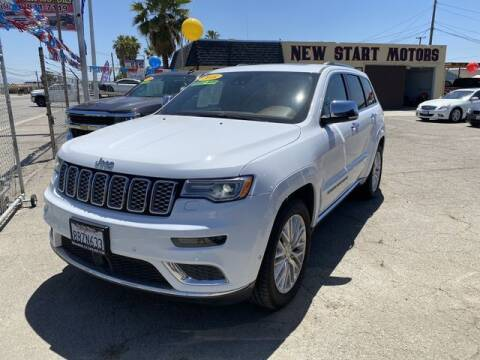 2018 Jeep Grand Cherokee for sale at New Start Motors in Bakersfield CA