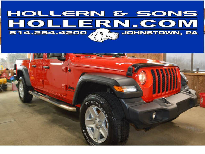 2020 Jeep Gladiator for sale at Hollern & Sons Auto Sales in Johnstown PA