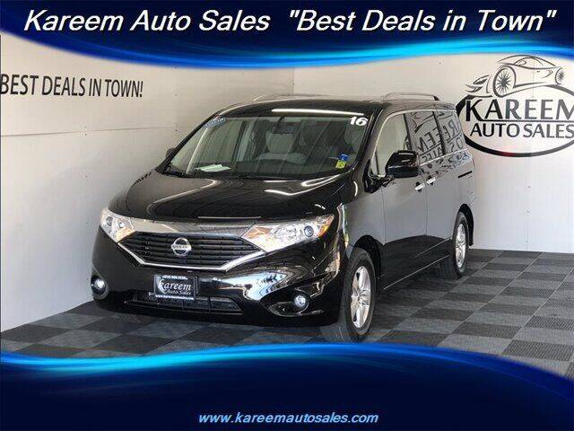 2016 Nissan Quest for sale in Sacramento, CA