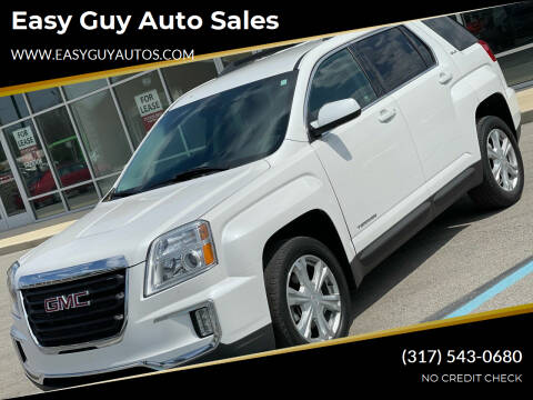2017 GMC Terrain for sale at Easy Guy Auto Sales in Indianapolis IN