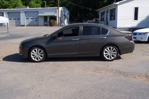 2014 Honda Accord for sale at Blackwood's Auto Sales in Union SC
