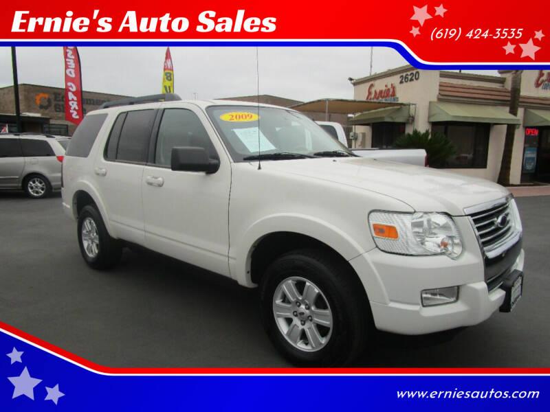 2009 Ford Explorer for sale at Ernie's Auto Sales in Chula Vista CA