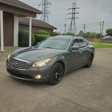 2013 Infiniti M37 for sale at MOTORSPORTS IMPORTS in Houston TX