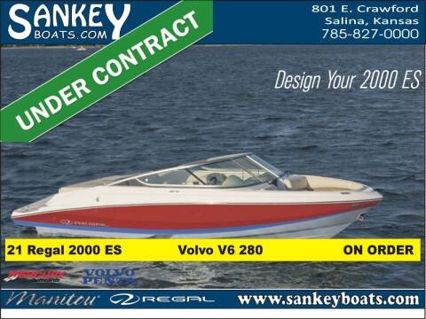 2021 Regal 2000 ES for sale at SankeyBoats.com in Salina KS