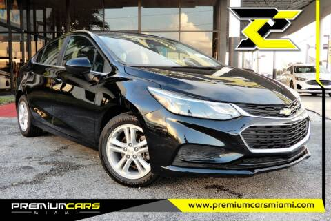 2017 Chevrolet Cruze for sale at Premium Cars of Miami in Miami FL