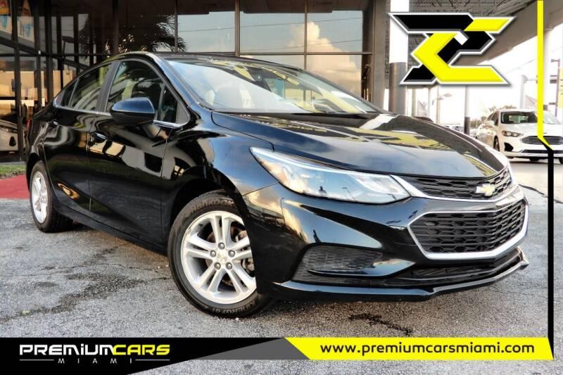 2017 Chevrolet Cruze for sale at Premium Cars of Miami in Miami FL