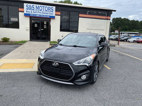 2016 Hyundai Veloster for sale at S & S Motors in Marietta GA