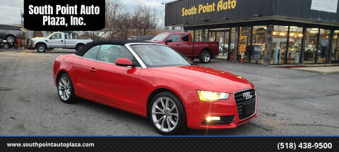 2014 Audi A5 for sale at South Point Auto Plaza, Inc. in Albany NY