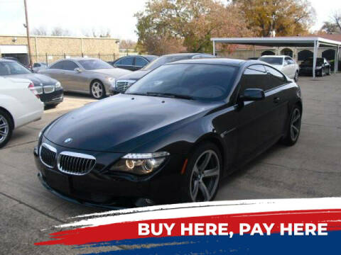 2006 BMW 6 Series for sale at German Exclusive Inc in Dallas TX