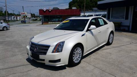 2012 Cadillac CTS for sale at West Elm Motors in Graham NC