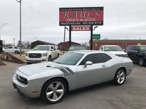 2010 Dodge Challenger for sale at RAUL'S TRUCK & AUTO SALES, INC in Oklahoma City OK