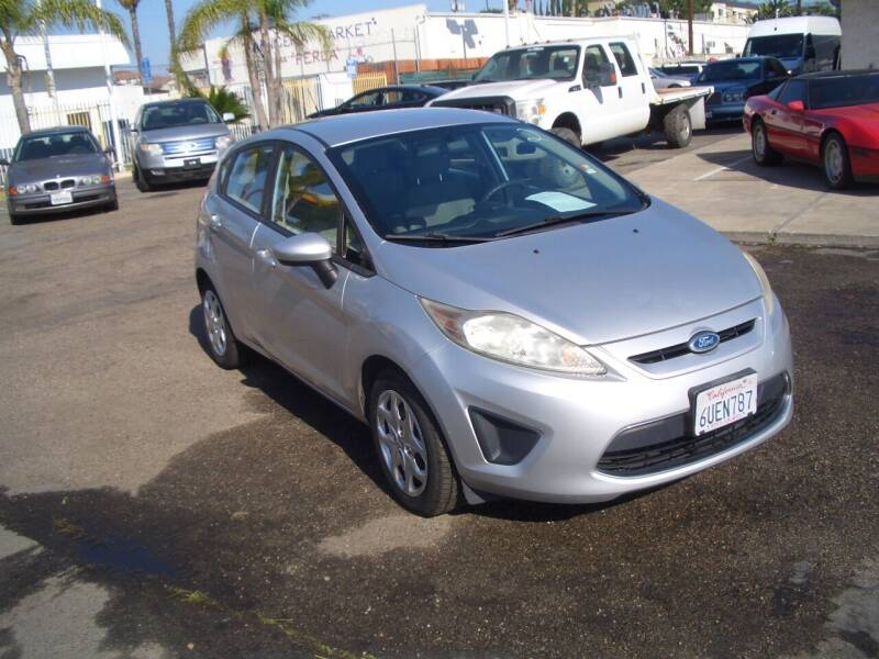 2012 Ford Fiesta for sale at Gaynor Imports in Stanton CA
