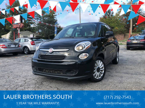 2014 FIAT 500L for sale at LAUER BROTHERS SOUTH in York PA