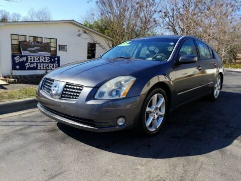 2005 Nissan Maxima for sale at TR MOTORS in Gastonia NC