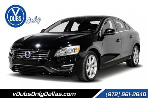 2016 Volvo S60 for sale at VDUBS ONLY in Dallas TX