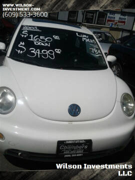 2001 Volkswagen New Beetle for sale at Wilson Investments LLC in Ewing NJ