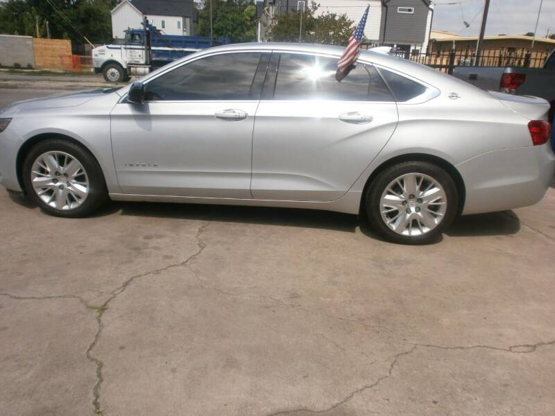 2018 Chevrolet Impala for sale at Under Priced Auto Sales in Houston TX