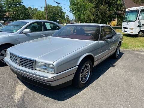 1987 Cadillac Allante for sale at Jimmy Jims Auto Sales in Tabernacle NJ