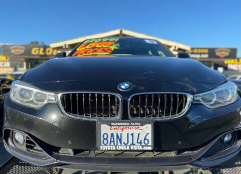 2015 BMW 4 Series for sale at Global Auto Group in Fontana CA