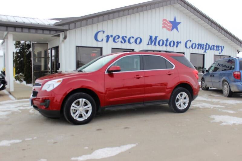 2012 Chevrolet Equinox for sale at Cresco Motor Company in Cresco IA