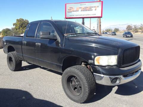 2004 Dodge Ram Pickup 1500 for sale at Sunset Auto Body in Sunset UT