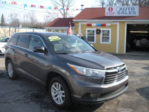 2015 Toyota Highlander for sale at One Stop Auto Sales in North Attleboro MA