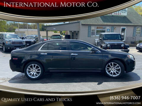 2010 Chevrolet Malibu for sale at International Motor Co. in St. Charles MO