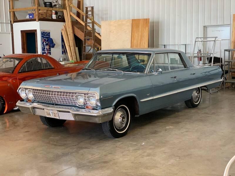 1963 Chevrolet Impala for sale at Gary Miller's Classic Auto in El Paso IL