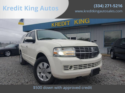 2008 Lincoln Navigator for sale at Kredit King Autos in Montgomery AL
