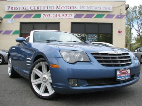 2005 Chrysler Crossfire for sale at Prestige Certified Motors in Falls Church VA