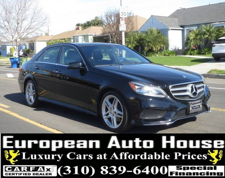 2014 Mercedes-Benz E-Class for sale at European Auto House in Los Angeles CA