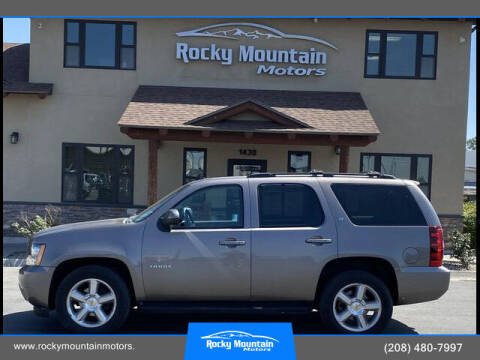 2011 Chevrolet Tahoe for sale at Rocky Mountain Motors in Idaho Falls ID