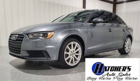 2015 Audi A3 for sale at Hatcher's Auto Sales, LLC - Buy Here Pay Here in Campbellsville KY