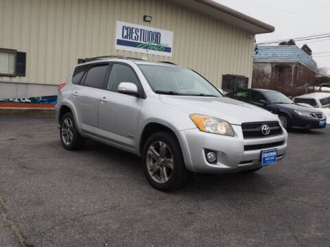 2011 Toyota RAV4 for sale at Crestwood Auto Sales in Swansea MA