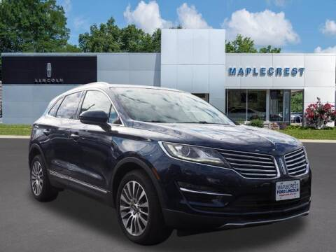 2017 Lincoln MKC for sale at MAPLECREST FORD LINCOLN USED CARS in Vauxhall NJ