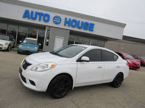 2014 Nissan Versa for sale at Auto House Motors in Downers Grove IL