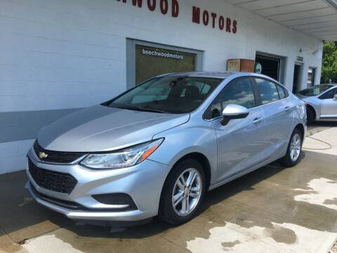 2017 Chevrolet Cruze for sale at Beechwood Motors in Somerville OH