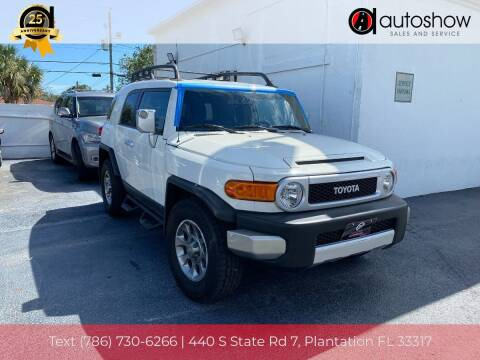 2011 Toyota FJ Cruiser for sale at AUTOSHOW SALES & SERVICE in Plantation FL