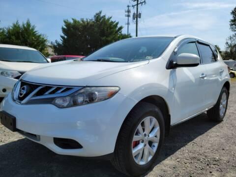 2014 Nissan Murano for sale at PERUVIAN MOTORS SALES in Warrenton VA