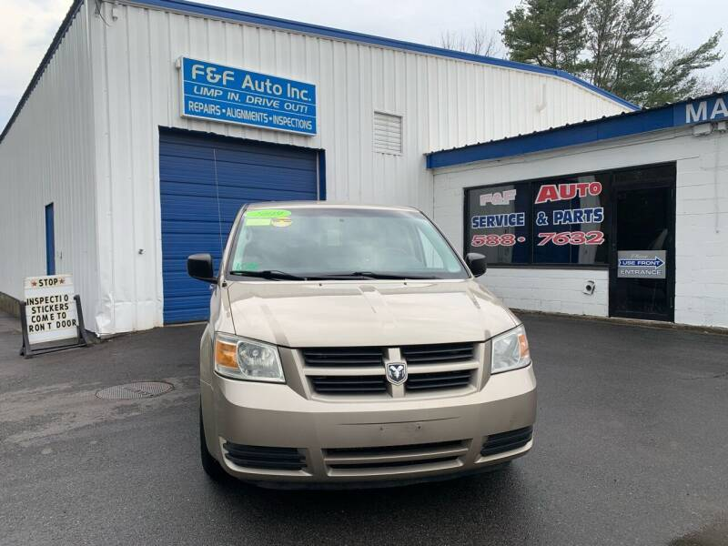 2009 Dodge Grand Caravan for sale at F&F Auto Inc. in West Bridgewater MA