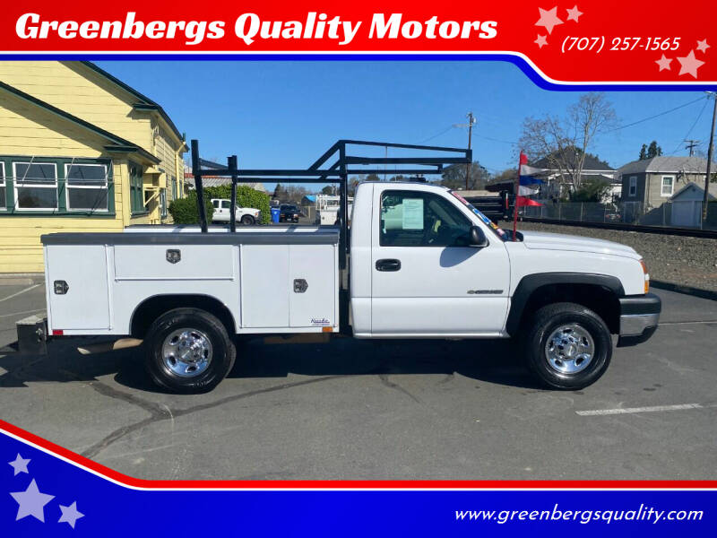 2007 Chevrolet Silverado 2500HD Classic for sale at Greenbergs Quality Motors in Napa CA
