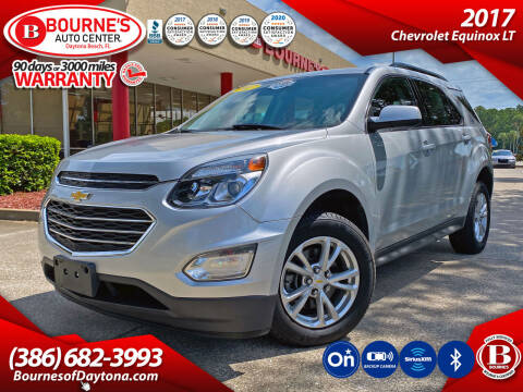2017 Chevrolet Equinox for sale at Bourne's Auto Center in Daytona Beach FL