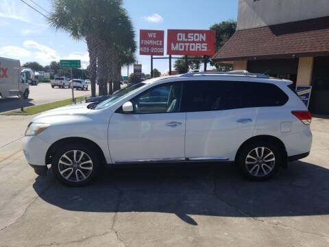 2015 Nissan Pathfinder for sale at Olson Motors LLC in Saint Augustine FL