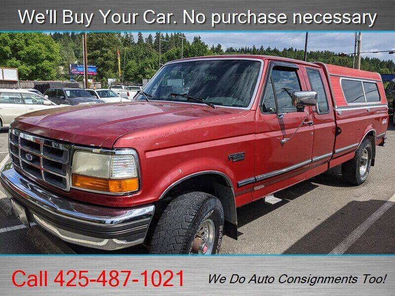 1993 Ford F-250 for sale at Platinum Autos in Woodinville WA