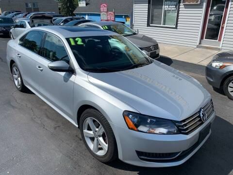 2012 Volkswagen Passat for sale at OZ BROTHERS AUTO in Webster NY